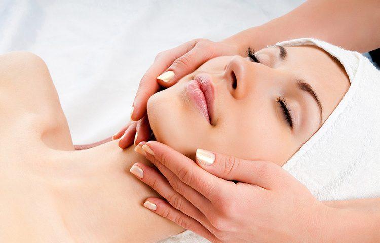 Lymphatic Facial Massage