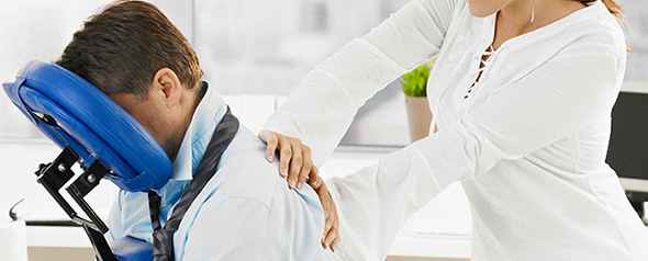 15 Min Corporate Chair Massage