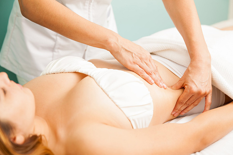 Lymph Massage for Digestive Problems in Montreal & Laval