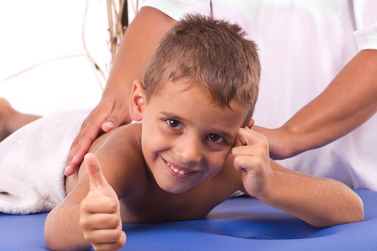 Massages for Children keeps them healthy